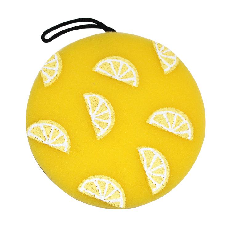 常州新款柠檬圈造型沐浴海绵